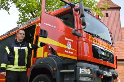 Feuerwehrmann aus Leidenschaft: Kai Pupka von Lipinski