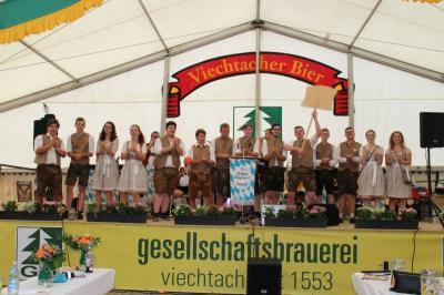 Foto zur Meldung: Die Kath. Landjugend feierte ein wunderbares 4-tägiges Fest