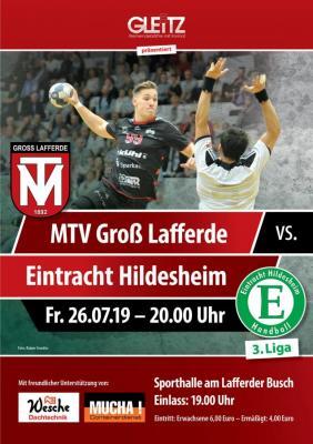 Vorschaubild zur Meldung: Drittligist Eintracht Hildesheim gastiert am Lafferder Busch