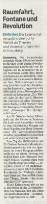 Foto zur Meldung: Der Leseherbst 2019 in Strausberg im Überblick
