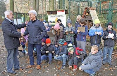 Foto zur Meldung: Lehrpfad für Finsterwalder Tierpark bekommt Finanzspritze