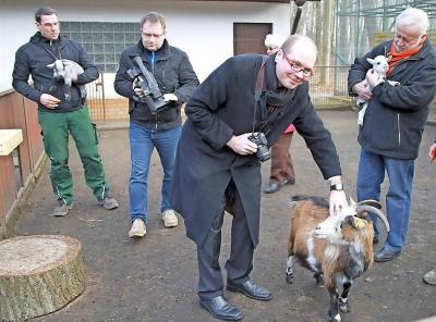 Foto zur Meldung: Prinz wechselt in Tierpark
