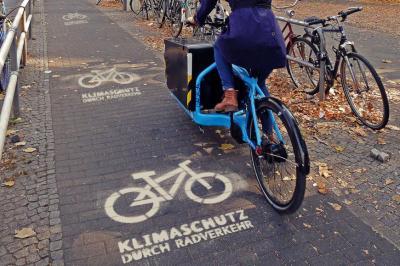 Foto zur Meldung: Klimaschutz durch Radverkehr