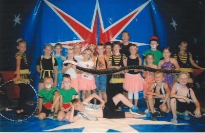 Foto zur Meldung: Kleine Zirkus-Stars ganz groß