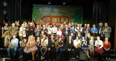 Vorschaubild zur Meldung: Dattelner Blasorchester zu Gast in Genthin Blasmusikfest am 13. Oktober 2019 im Stadtkulturhaus Genthin