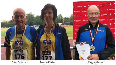 Vorschaubild zur Meldung: 5 x Gold, 1x Silber für die Senioren/innen bei den Deutschen Meisterschaften