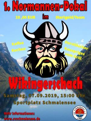 Foto zur Meldung: Angriff der Wikinger – 1. Normannen-Pokal beim SV Schmalensee am 7. September