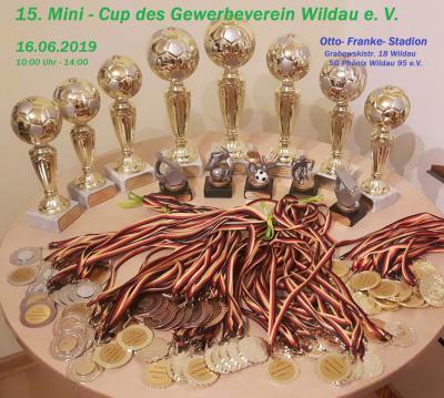 Vorschaubild zur Meldung: 15. Minicup Fußballturnier des Gewerbeverein Wildau