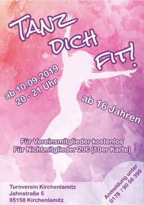 Vorschaubild zur Meldung: Tanz dich fit! - Ein neues Sportangebot des TVK