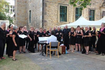 Chorauftritt im Landsberg'schen Hof
