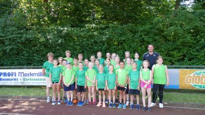 Foto zur Meldung: Training der Leichtathleten in den Sommerferien