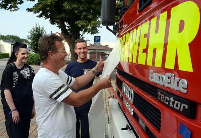 Foto zur Meldung: Das neue alte Feuerwehrauto