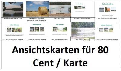 Foto zur Meldung: Holsteinseen sorgt für Postkarten aus der Region