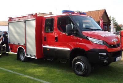 Der neue TSF-W der Feuerwehr Müschen