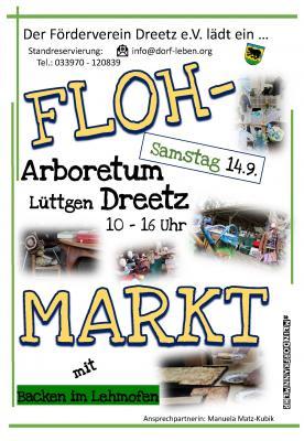 Vorschaubild zur Meldung: Flohmarkt im Arboretum Dreetz