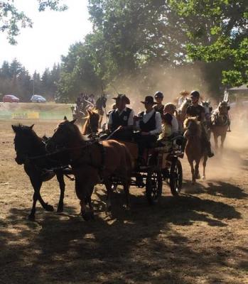 Foto zur Meldung: Trotz (oder wegen) abgespeckter Variante ein gut besuchtes Traditionsfest