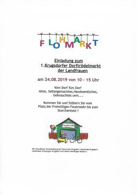 Foto zur Meldung: 1. Dorftrödelmarkt in Krugsdorf