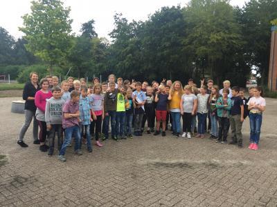 Foto zur Meldung: Begrüßung der neuen fünften Klassen an der OBS Jade