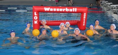 Foto zur Meldung: Wasserball U14 Netzschkau & Sportferienwoche Wasserball