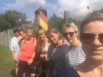 Foto zur Meldung: Radtour der Donnerstagsfrauen 2019