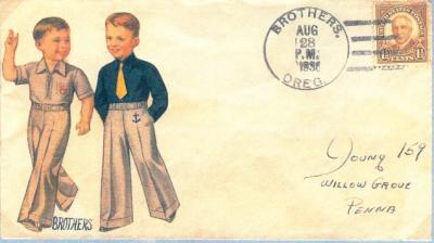 Brief aus Brothers