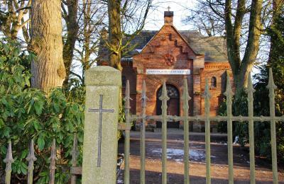 Foto zur Meldung: Mal ein anderer Tag der offenen Tür: auf dem Friedhof