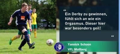 Foto zur Meldung: 1. Herren: Derbysieger!
