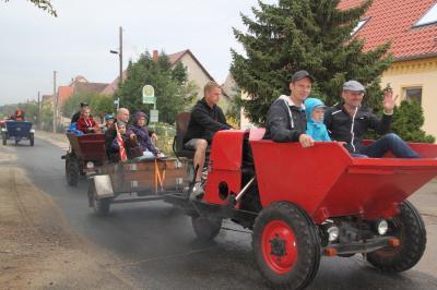 Foto zur Meldung: PM 31/2019 Auf drei Rädern unterwegs- Dumperrennen, Erntefest, Hans-Grade und noch viel mehr im September