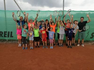 Foto zur Meldung: Kinder hatten viel Spaß beim Ferienprogramm
