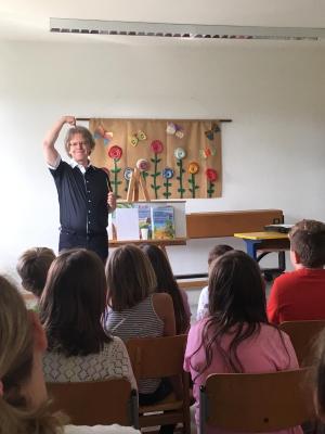 Foto zur Meldung: Lesewoche an der Grundschule Prackenbach