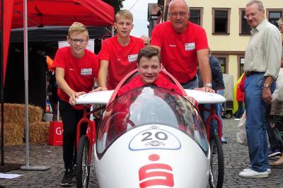 Vorschaubild zur Meldung: Seifenkistenrennen in Fulda zum Stadtjubiläum