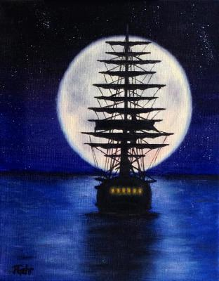 Foto zur Meldung: Sehnsuchtsort Mond – Eine literarisch-musikalische Reise am 13. September