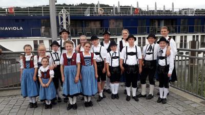 Vorschaubild zur Meldung: Auftritt Schiffsanlegestelle Vilshofen
