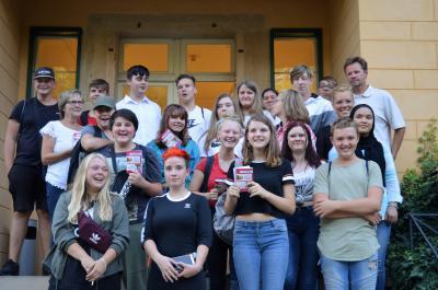 Foto zur Meldung: Schulhausroman der Graf von Arco-Oberschule in Potsdam vorgestellt