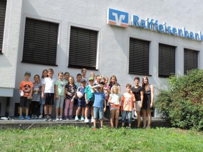 Ferienprogrammpunkt der Raiba Bühlertal