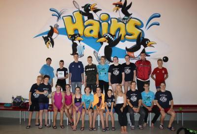 Foto zur Meldung: 12-Stunden-Schwimmen in Freital-Hainsberg