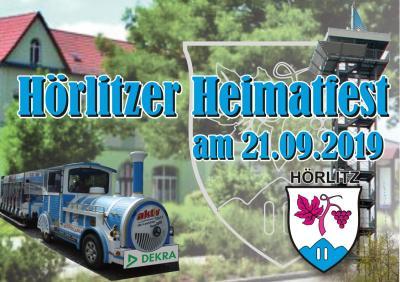Vorschaubild zur Meldung: Heimatfest in Hörlitz am 21.09.2019