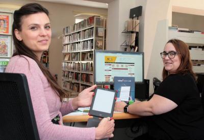 Foto zur Meldung: Strausberg verleiht digitale Bücher weltweit