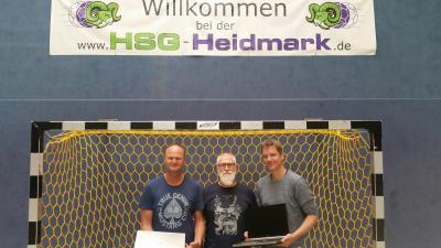 v.li.: Jörg Wittenberg, Thomas Grittner, Markus Engelke