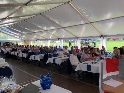 Foto zur Meldung: Der SV Glückauf Bleicherode feierte 70-jähriges Jubiläum