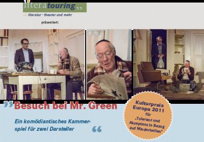 Vorschaubild zur Meldung: Besuch bei Mr. Green