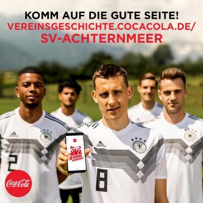 Vorschaubild zur Meldung: Unterstützt den SVA beim Coca Cola Gewinnspiel