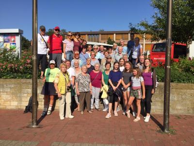 Knapp 50 Turnschwestern und Turnbrüder fuhren mit nach Hameln