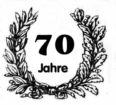 Vorschaubild zur Meldung: Einladung zur 70 Jahr-Feier