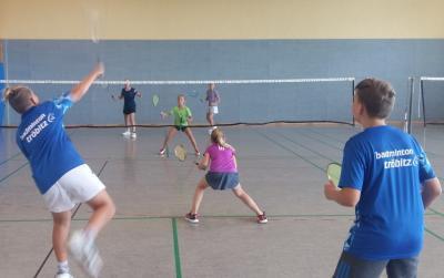 Vorschaubild zur Meldung: Tröbitzer Badmintonnachwuchs mit Trainingstag in die zweite Saisonhälfte gestartet - Qualifikation zur Meisterschaft im Anschluss eingefahren