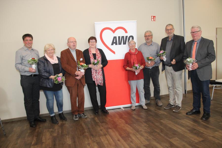 Vorschaubild der Meldung: Peter Eichstädt neuer Kreisvorsitzender der AWO