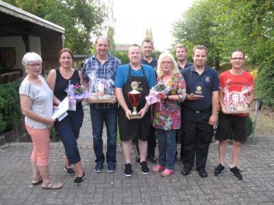 Foto: Die Teilnehmer vom Pokalschießen