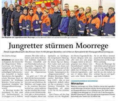 Foto zur Meldung: Bald geht es los: Kreisjugendfeuerwehrtag in Moorrege