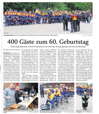 Foto zur Meldung: 400 Gäste beim Kreisjugendfeuerwehrtag
