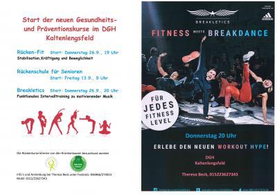Vorschaubild zur Meldung: Start der neuer Gesundheits- und Präventionskurse in Kaltenlengsfeld